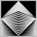 op art studio logo